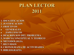 PLAN LECTOR 2007---2008
