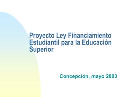Ley de Financiamiento de la Educación Superior