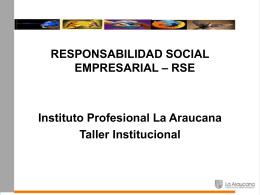 Conceptos RSE.