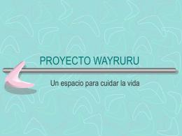 Presentación del proyecto