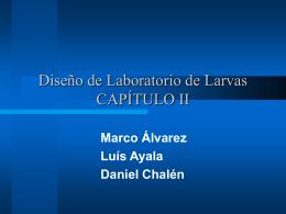 Diseño de Laboratorio de Larvas