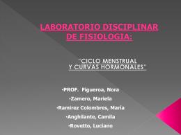 LABORATORIO DISCIPLINAR DE FISIOLOGIA: