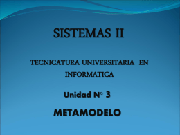 Metamodelo - segundo