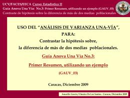 No.3: Primer Resumen, utilizando un ejemplo (GAUV_03)
