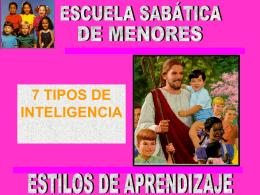Escuela Sabatica del menor