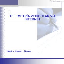 Presentación de PowerPoint - telemetria-vehicular