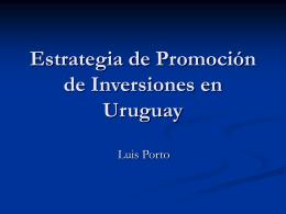 Luis Porto - Cámara de Industrias del Uruguay