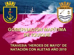 """travesia """"heroes de mayo"""" de natación con aletas"""