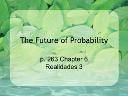 The Future of Probability