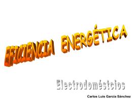 En casa: los electrodoméstricos más eficientes. Por Carlos García