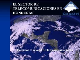 La Comisión Nacional de Telecomunicaciones (CONATEL)