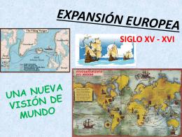 EXPANSIÓN EUROPEA