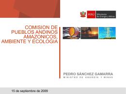 Perforar un pozo exploratorio - Congreso de la República del Perú