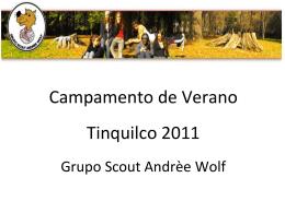 camver 2011 - Grupo Scout Andrèe Wolf