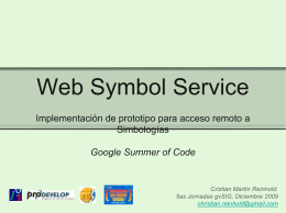 Web Symbol Service