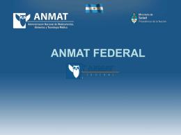 4| anmat - Ministerio de Salud