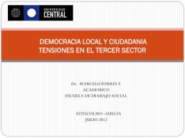 CONTROVERSIAS EN EL TERCER SECTOR