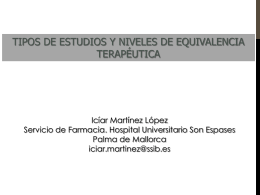 Presentación de Iciar Martínez
