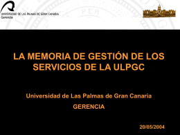 Titulo - Universidad de Las Palmas de Gran Canaria