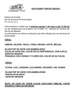 FESTIVAL DIA DE LAS MADRES-TERCERO