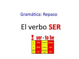 Gramática: Repaso