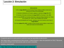 Lección 2: Simulación