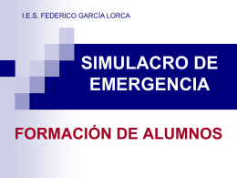 Present. Instrucc. SIMULACRO Alumnos 14