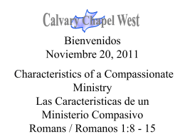 Romans 1:16 - Calvary Chapel West