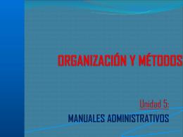 Manuales Administrativos.