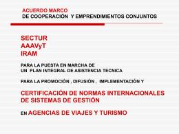LEY NACIONAL DE TURISMO Nº 25.997 destaca la IMPORTANCIA