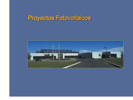 Fotovoltaica - Parte1