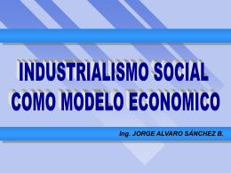 Ing. JORGE ALVARO SÁNCHEZ B