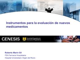 Instrumentos para la evaluación. Guía GINF