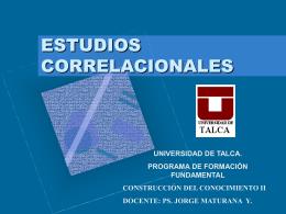 ESTUDIOS_CORRELACIONALES