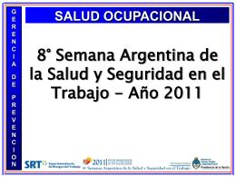 Salud Ocupacional - Superintendencia de Riesgos del Trabajo