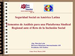 Venezuela: Elementos de Análisis para una Plataforma Sindical