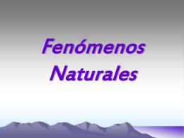 Fenómenos Naturales - gth-inovaccion-sst