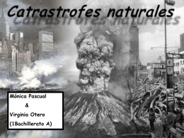 Catastrofes Naturales