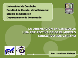 Perspectiva: MODELO EDUCATIVO