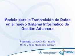 Modelo para la transmisión de datos