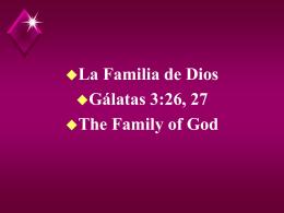 Familia de Dios