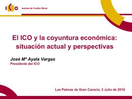 Presentación Jornada ICO