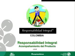 Acompañamiento del producto - Responsabilidad Integral Colombia
