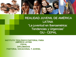 2. REALIDAD JUVENIL DE IBEROAMÉRICA - itepal-dpj