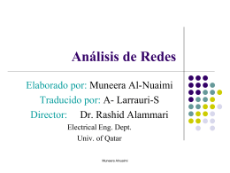 Análisis de redes de circuitos resistivos