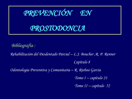 prevencion en protesis II