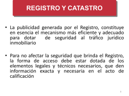 registro catastro