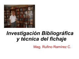 Ficha bibliográfica de dos autores