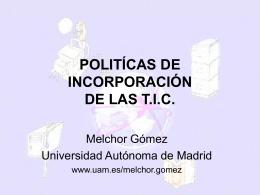 Melchor Gómez García