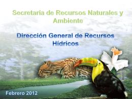 Legislacion-Recursos-Hidricos-Director SERNA